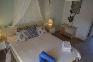 double studio sea side a double bed