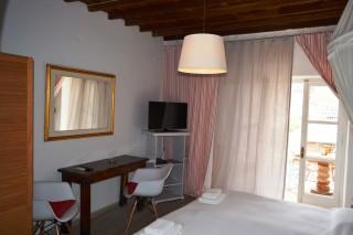 double studio sea side bedroom facilities