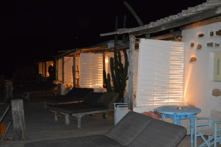 double studio sea side by night