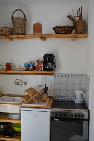 double studio sea side kitchenette