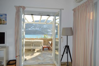 house 1 sea side studios balcony with sea view